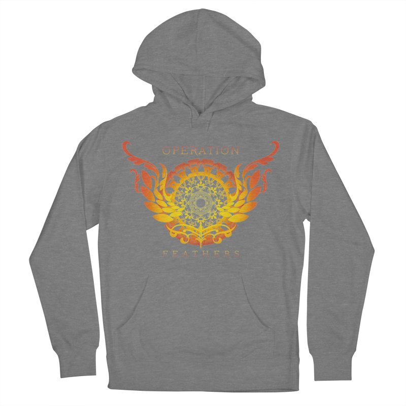 O.F. Mandala of Power - Orange Sunburst Women's Pullover Hoody by The Evocative Workshop's SFX Art Studio Shop