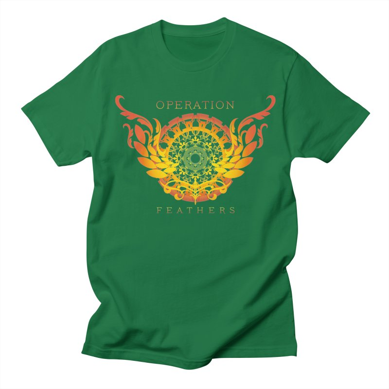 O.F. Mandala of Power - Orange Sunburst Women's Regular Unisex T-Shirt by The Evocative Workshop's SFX Art Studio Shop