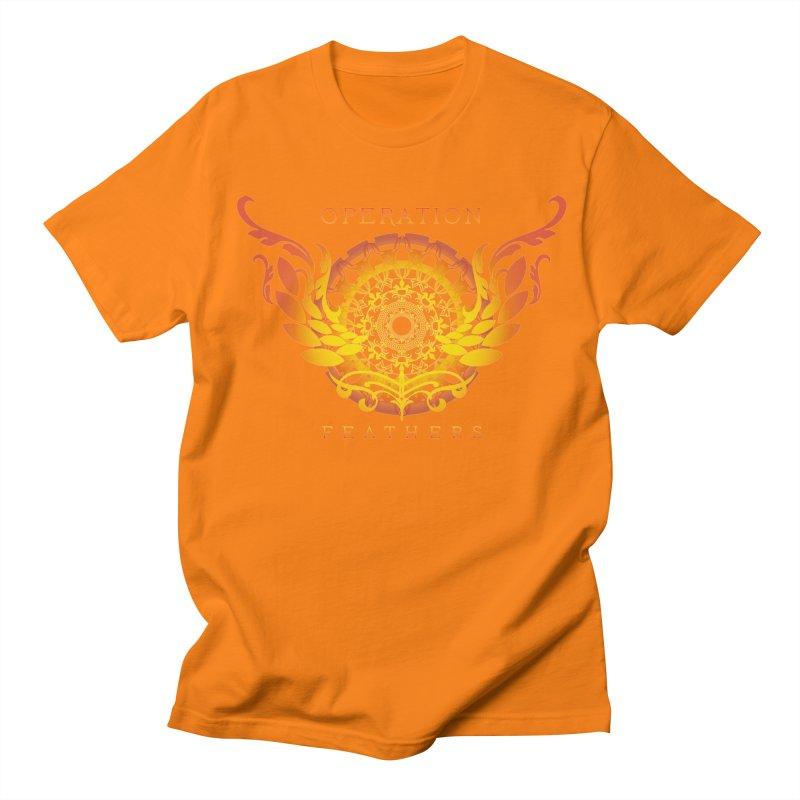 O.F. Mandala of Power - Orange Sunburst Women's T-Shirt by The Evocative Workshop's SFX Art Studio Shop