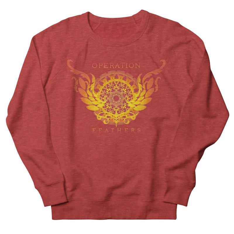 O.F. Mandala of Power - Orange Sunburst Men's Sweatshirt by The Evocative Workshop's SFX Art Studio Shop