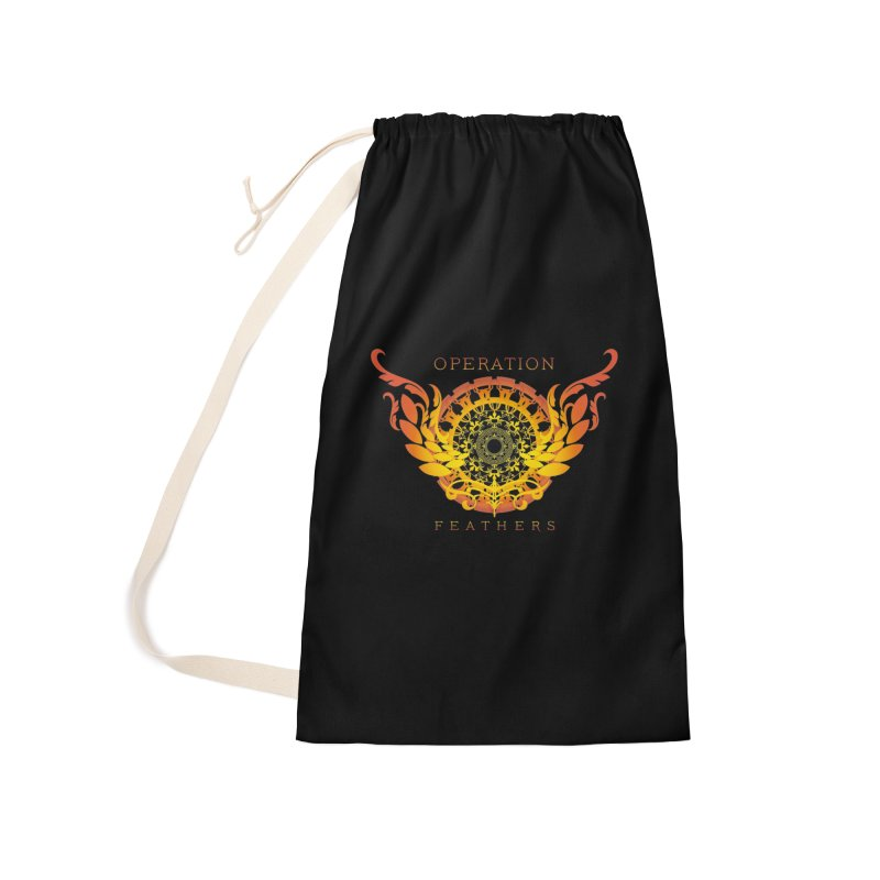 O.F. Mandala of Power - Orange Sunburst Accessories Bag by The Evocative Workshop's SFX Art Studio Shop