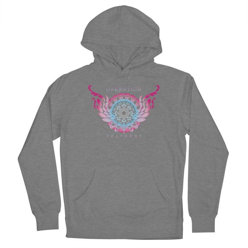 O.F. Mandala of Power - Blue Pinkburst Men's Pullover Hoody by The Evocative Workshop's SFX Art Studio Shop