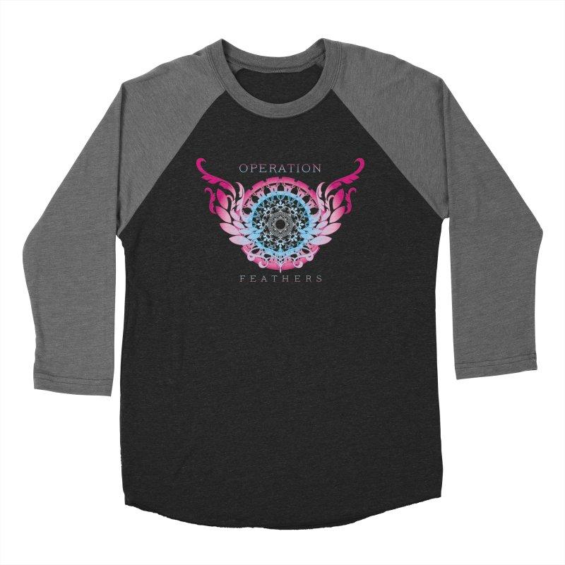 O.F. Mandala of Power - Blue Pinkburst Women's Longsleeve T-Shirt by The Evocative Workshop's SFX Art Studio Shop