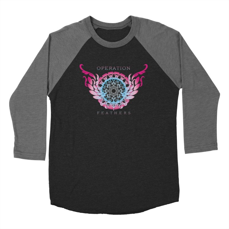 O.F. Mandala of Power - Blue Pinkburst Men's Longsleeve T-Shirt by The Evocative Workshop's SFX Art Studio Shop