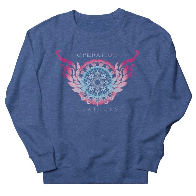 O.F. Mandala of Power - Blue Pinkburst Women's Sweatshirt by The Evocative Workshop's SFX Art Studio Shop