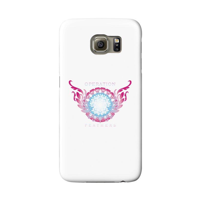 O.F. Mandala of Power - Blue Pinkburst Accessories Phone Case by The Evocative Workshop's SFX Art Studio Shop