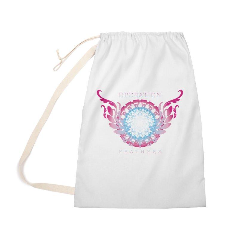 O.F. Mandala of Power - Blue Pinkburst Accessories Bag by The Evocative Workshop's SFX Art Studio Shop