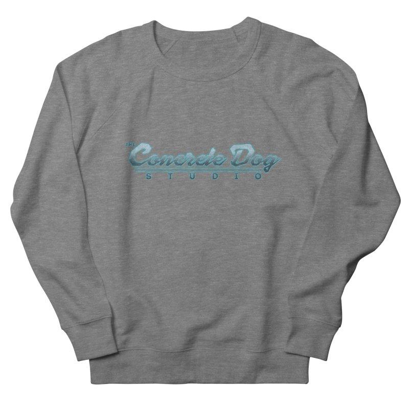 The Concrete Dog Studio Logo - Text Only Men's Sweatshirt by The Evocative Workshop's SFX Art Studio Shop