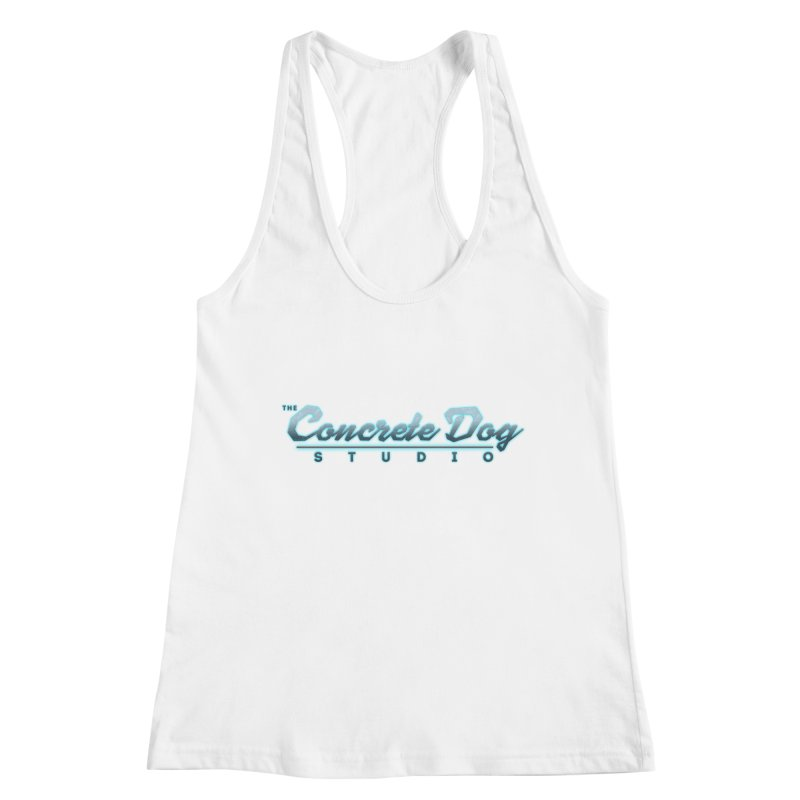 The Concrete Dog Studio Logo - Text Only Women's Tank by The Evocative Workshop's SFX Art Studio Shop