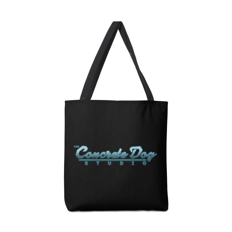 The Concrete Dog Studio Logo - Text Only Accessories Bag by The Evocative Workshop's SFX Art Studio Shop