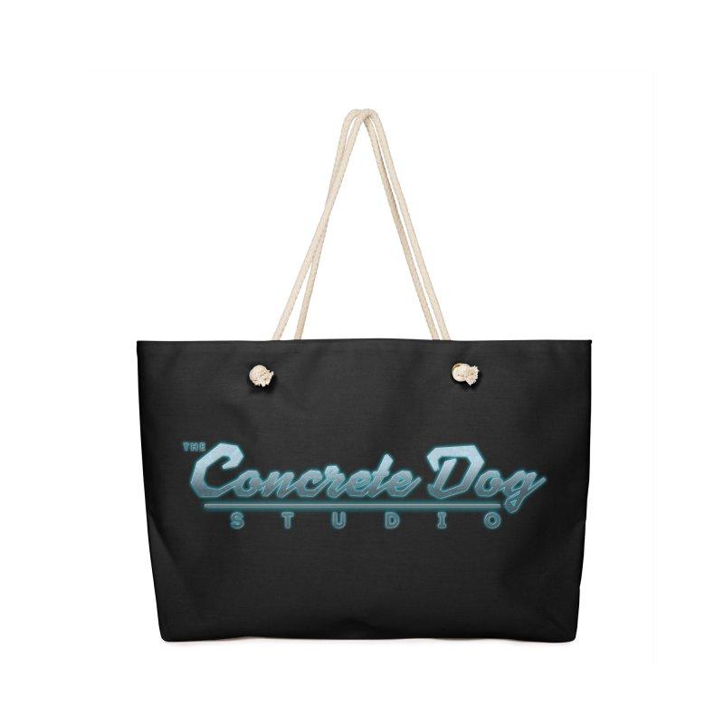 The Concrete Dog Studio Logo - Text Only Accessories Bag by The Evocative Workshop's SFX Art Studio Shop