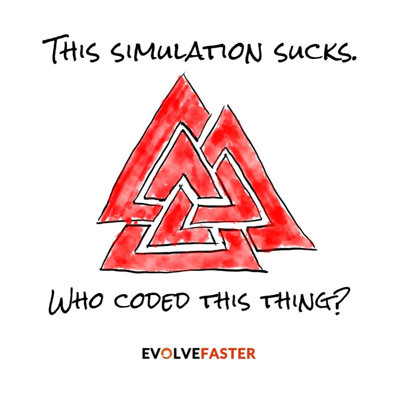This Simulation Sucks...Who Coded this Thing? (Light Colors) by Evolve Faster with Scott Ely
