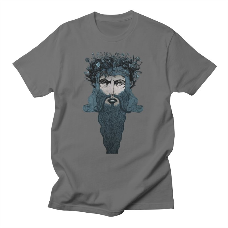 Conqueror (blue) Men's T-Shirt by Evolve-R Apparel