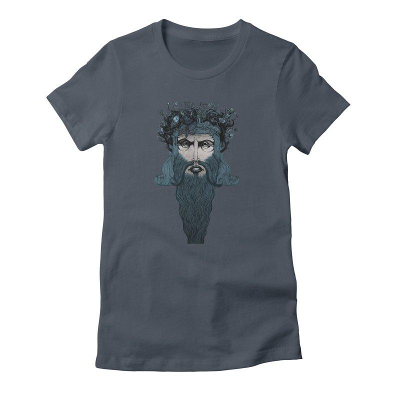 Conqueror (blue) Women's T-Shirt by Evolve-R Apparel
