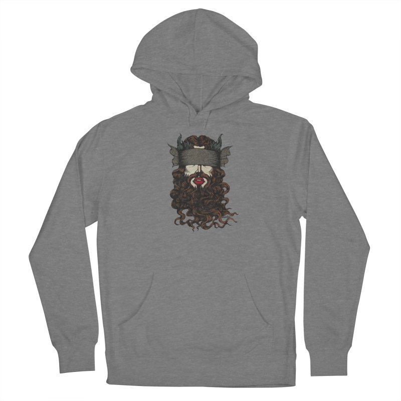See No Evil Red. Women's Pullover Hoody by Evolve-R Apparel