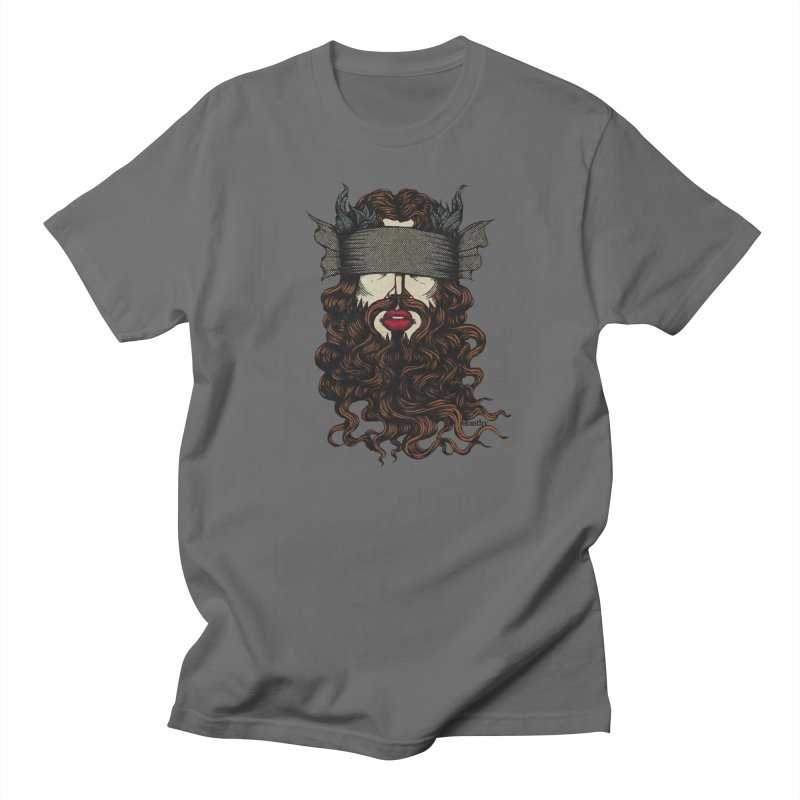See No Evil Red. Men's T-Shirt by Evolve-R Apparel