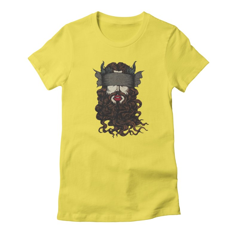 See No Evil Red. Women's T-Shirt by Evolve-R Apparel