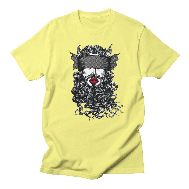 See No Evil (Black & White) Men's T-Shirt by Evolve-R Apparel