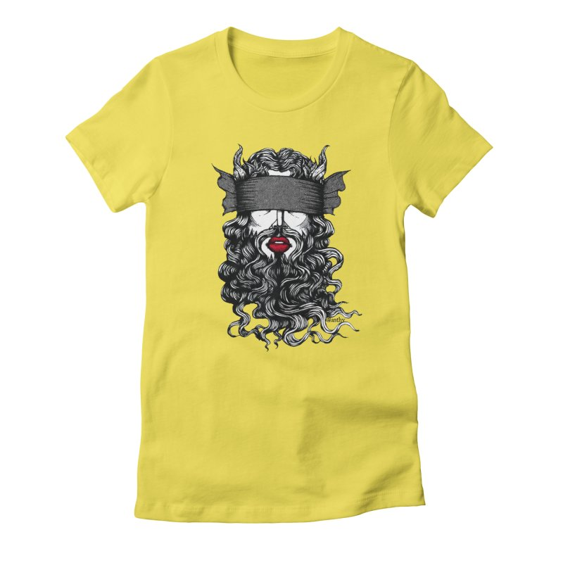 See No Evil (Black & White) Women's T-Shirt by Evolve-R Apparel