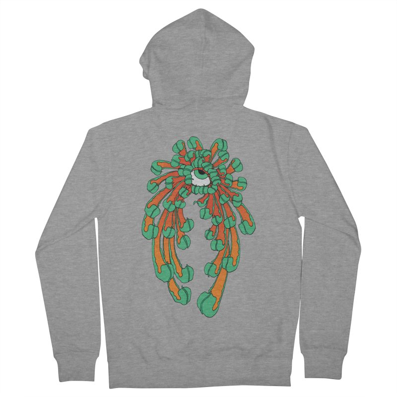 Chrysanthemum Eye Men's Zip-Up Hoody by Evy Illustration