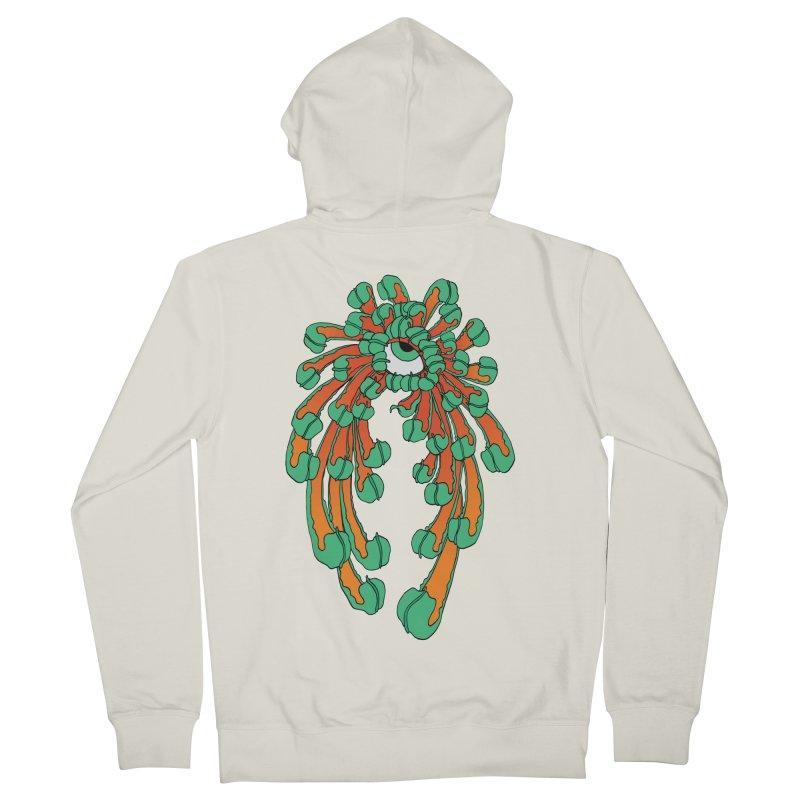 Chrysanthemum Eye Men's Zip-Up Hoody by Evy Illustration