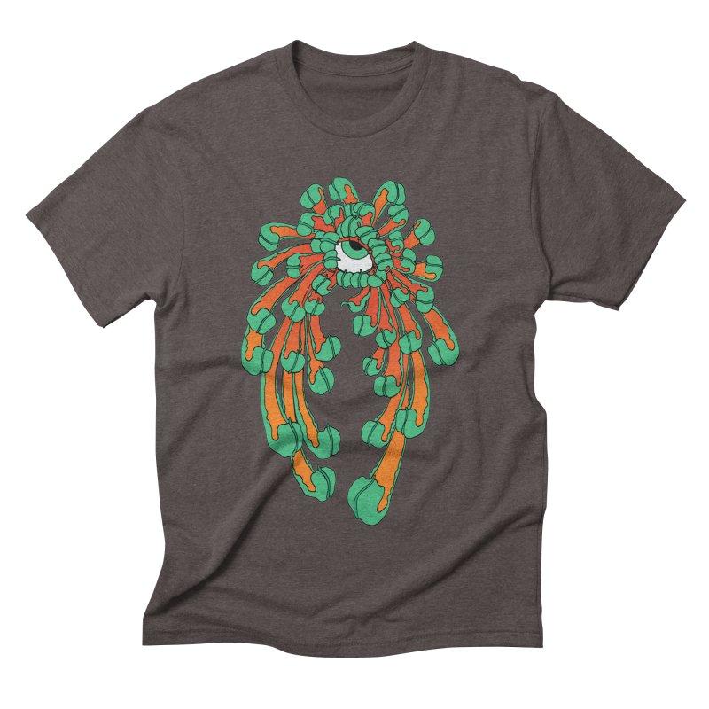 Chrysanthemum Eye Men's Triblend T-Shirt by Evy Illustration