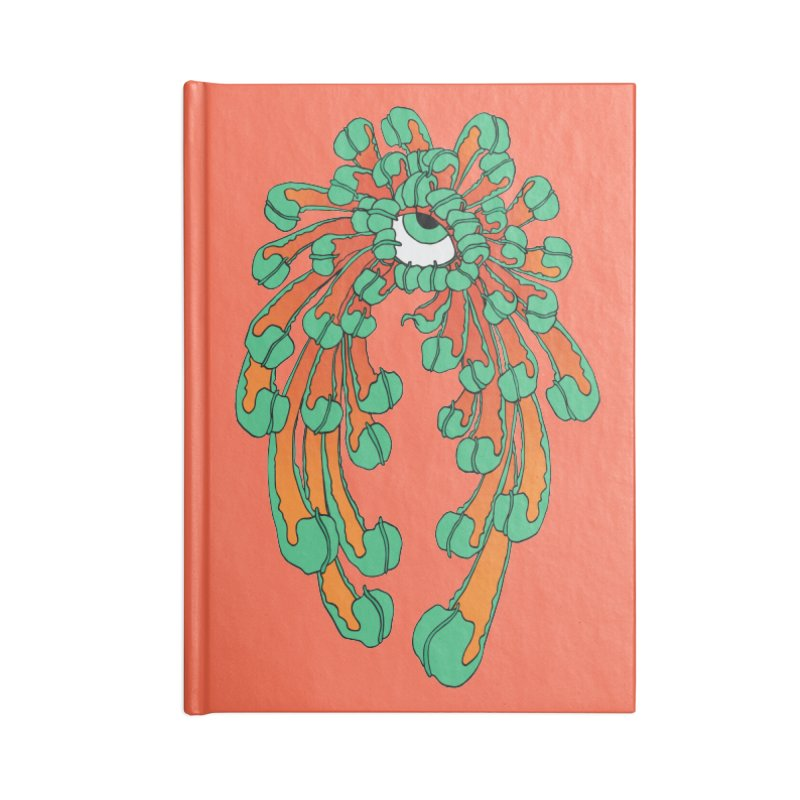 Chrysanthemum Eye Accessories Notebook by Evy Illustration
