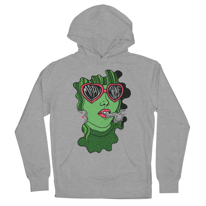 Mary Jane Women's Pullover Hoody by Evy Illustration