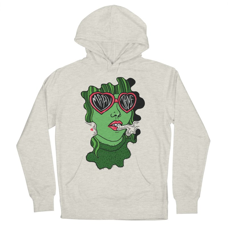 Mary Jane Men's Pullover Hoody by Evy Illustration