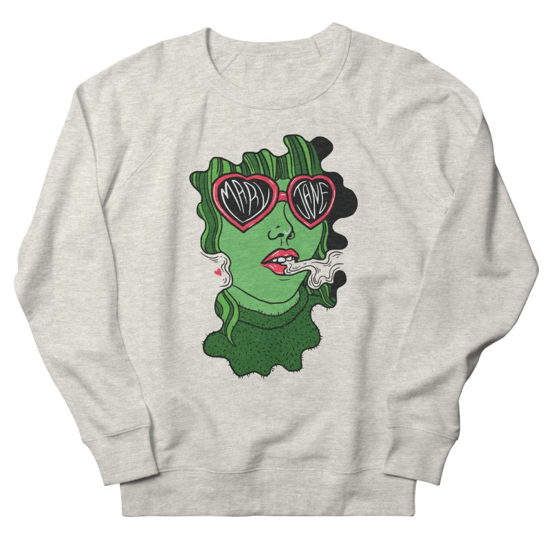 Mary Jane Men's Sweatshirt by Evy Illustration
