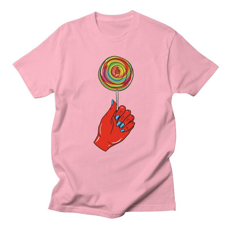 Suck It Men's T-shirt by Evy Illustration
