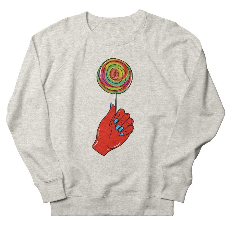 Suck It Men's Sweatshirt by Evy Illustration