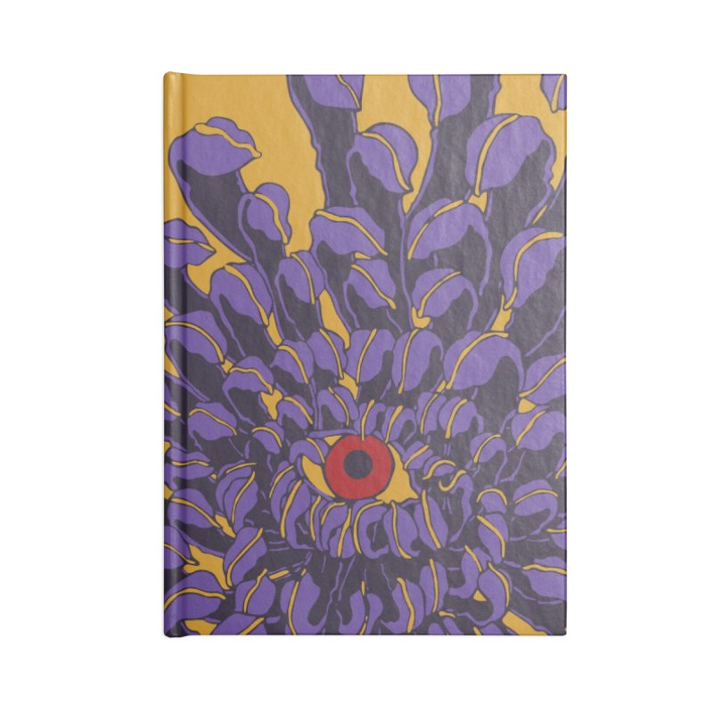 Evil Eye Accessories Notebook by Evy Illustration