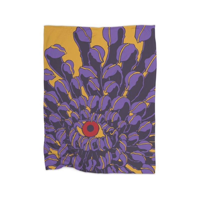 Evil Eye Home Blanket by Evy Illustration