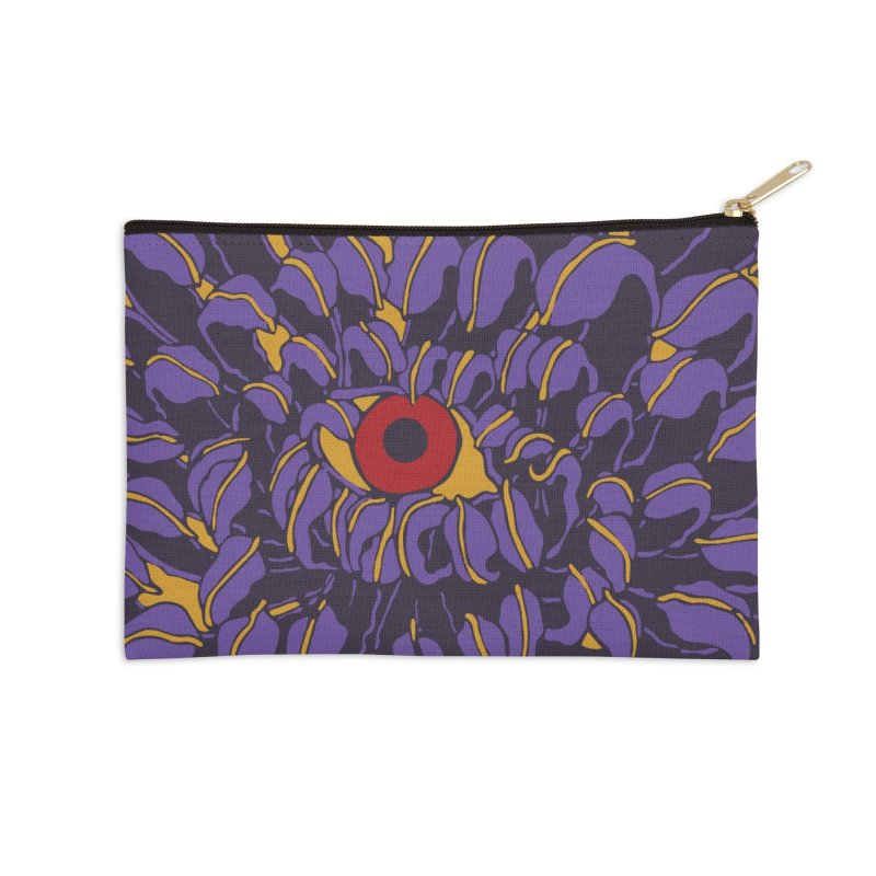 Evil Eye Accessories Zip Pouch by Evy Illustration