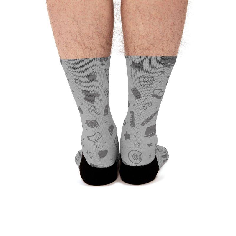 Favorite Things Men's Socks by Example Artist Shop