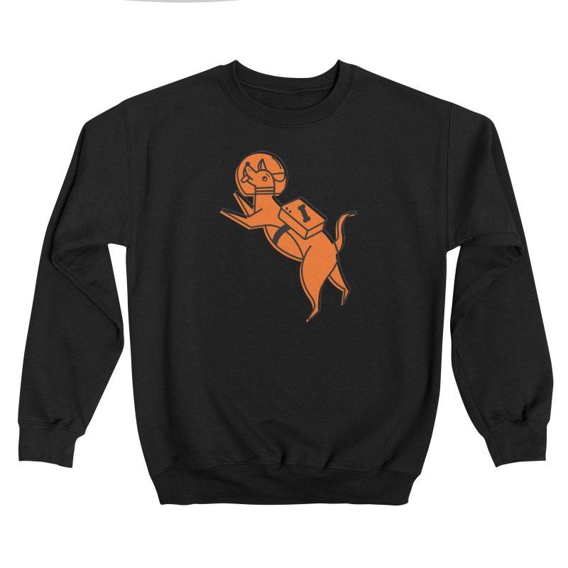 Space Dog! Feminine Sweatshirt by Example Artist Shop