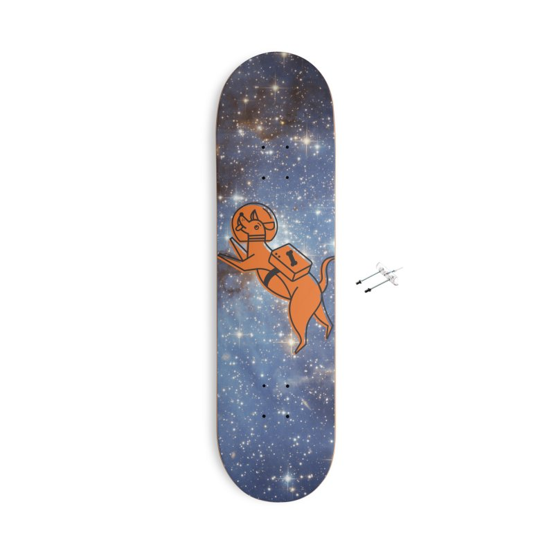 Space Dog! Accessories Skateboard by Example Artist Shop