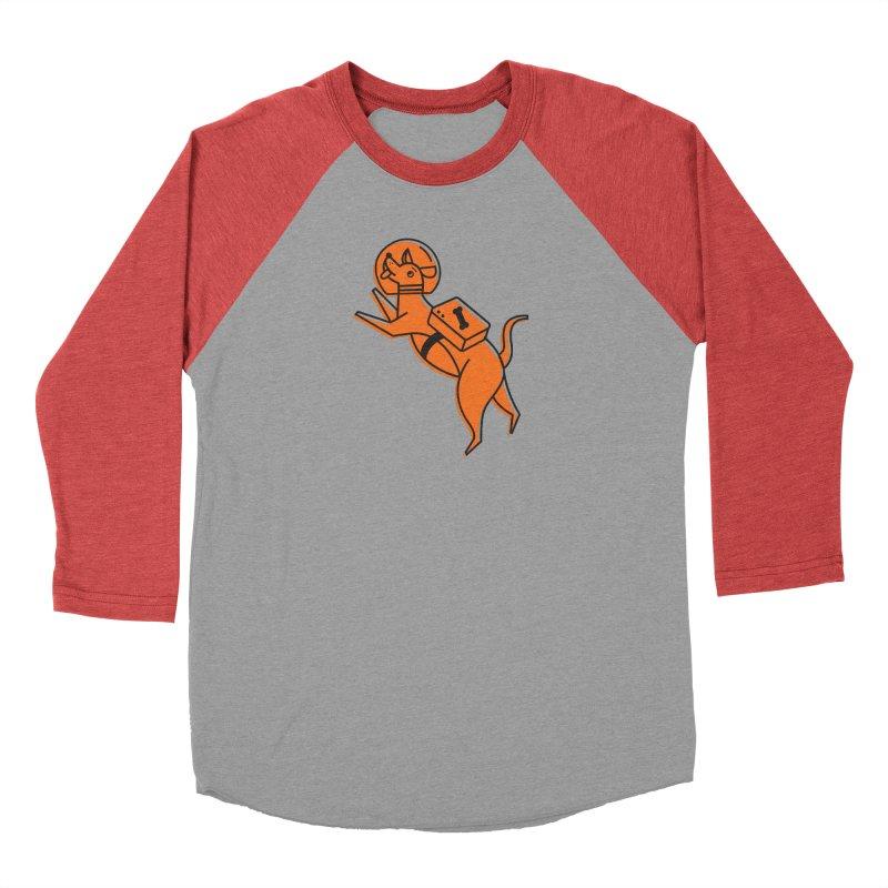 Space Doggo Men's Longsleeve T-Shirt by Example Artist Shop