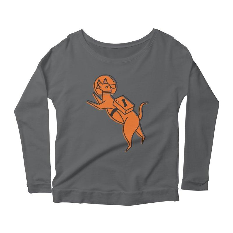 Space Doggo Feminine Longsleeve T-Shirt by Example Artist Shop