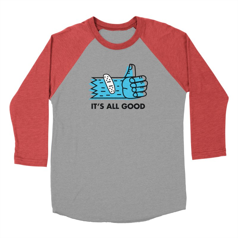 All Good Men's Longsleeve T-Shirt by Example Artist Shop