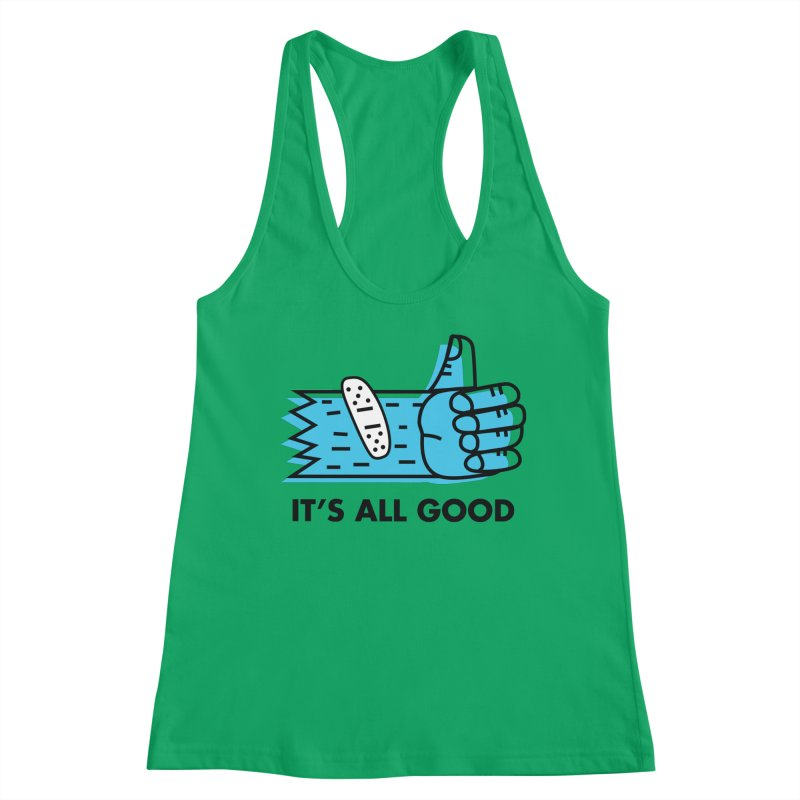 All Good Women's Tank by Example Artist Shop