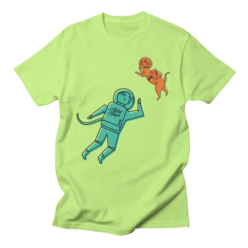 Space Pals Men's T-Shirt by Example Artist Shop