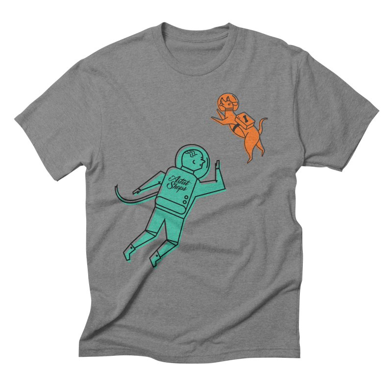 Space Pals Men's T-Shirt by Example Artist Shop