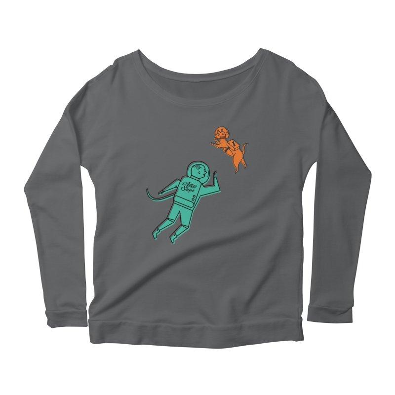 Space Pals Feminine Longsleeve T-Shirt by Example Artist Shop