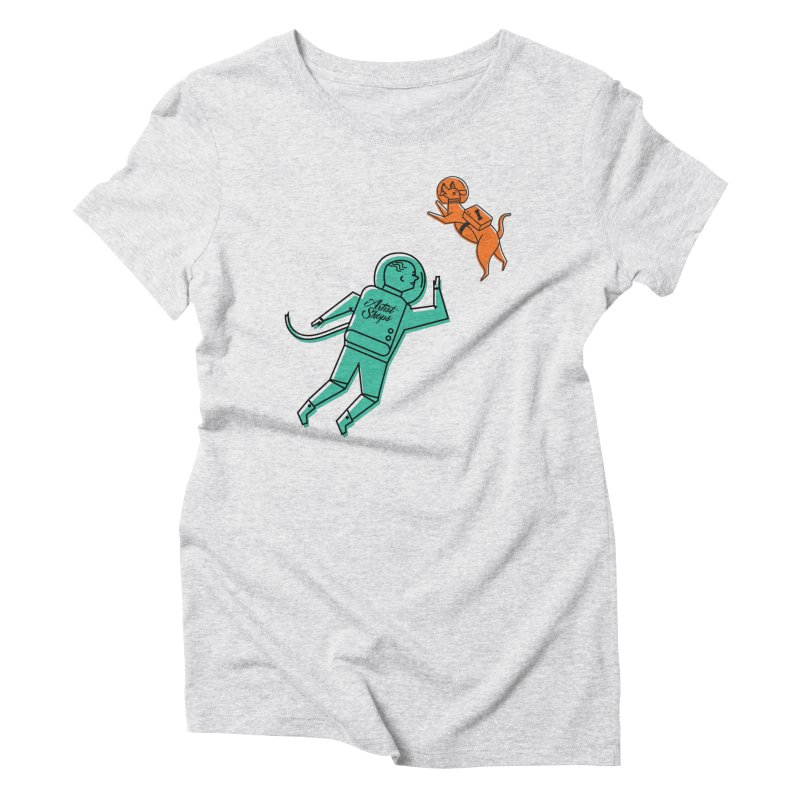 Space Pals Women's T-Shirt by Example Artist Shop