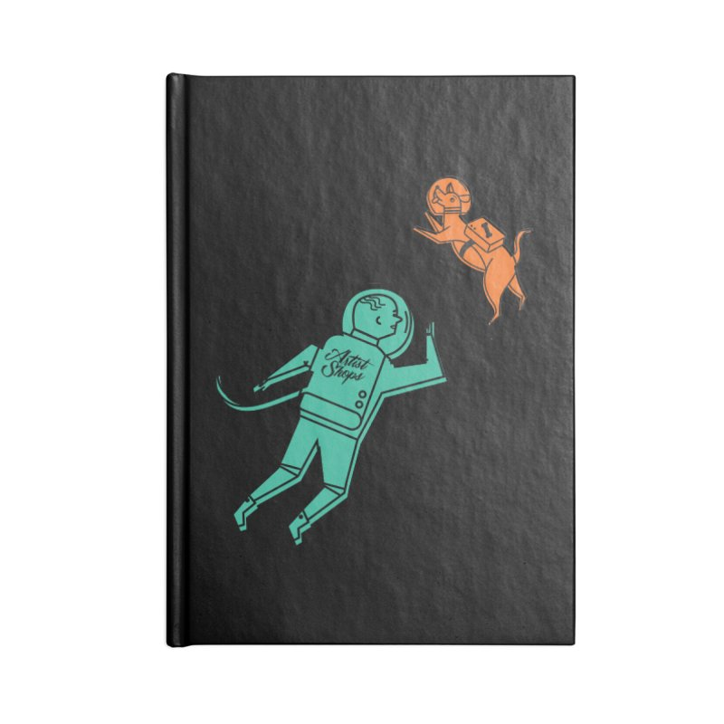Space Pals Accessories Notebook by Example Artist Shop
