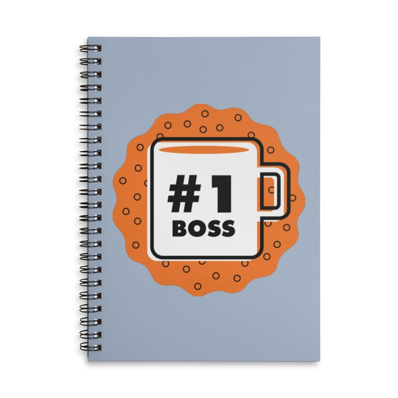 Number 1 Accessories Notebook by Example Artist Shop
