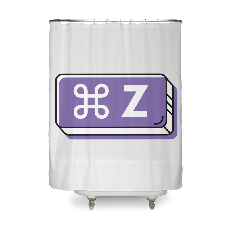 CMD Z Home Shower Curtain by Example Artist Shop