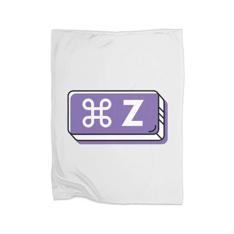 CMD Z Home Blanket by Example Artist Shop